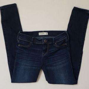 Girl's 12 Abercrombie Kids Dark Denim Skinny Jeans